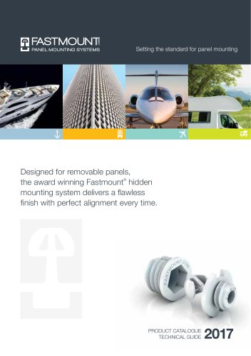 Fastmount Product Catalogue 2017