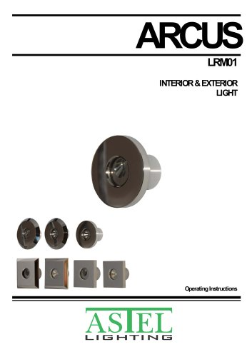 ARCUS LRM01: Courtesy interior, exterior and underwater LED light