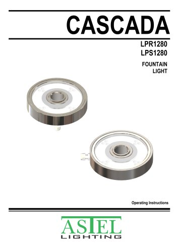 Fountain LED Light CASCADA LPR/LPS1280