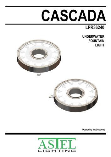 Fountain LED Light CASCADA LPR/LPS36240