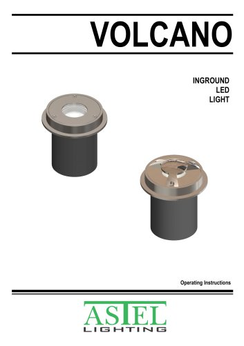 Inground LED Light VOLCANO