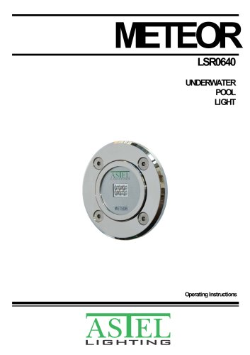 METEOR LSR0640 Underwater Pool LED Light