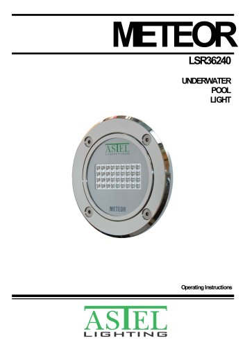 METEOR LSR36240 Underwater Pool LED Light