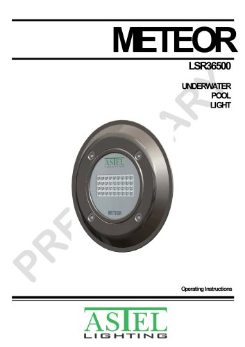 METEOR LSR36500 Underwater Pool LED Light