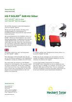 HS P SOLRIF ® 3kW - Kit Silber