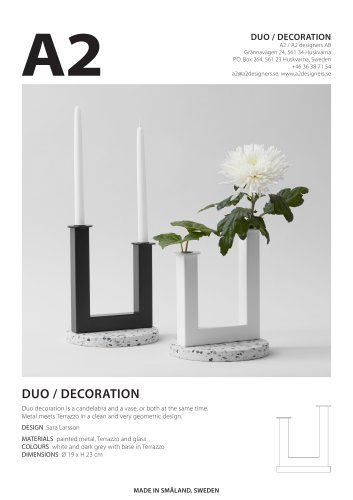 DUO / DECORATION