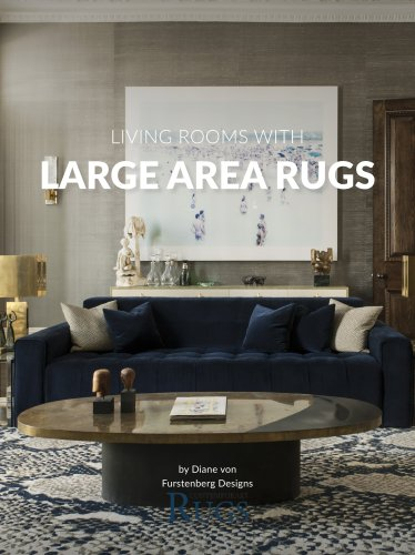 Living Rooms with Large Area Rugs