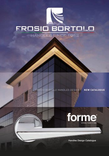 forme® Handles Design Catalogue