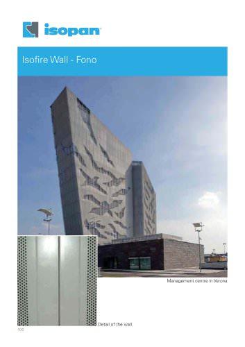 Isofire wall - fono