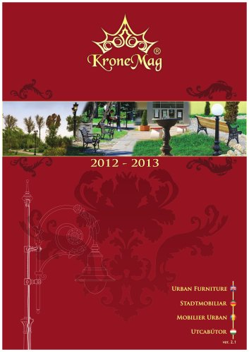 Catalog 2012-2013-Urban and Garden Furniture. Summary version
