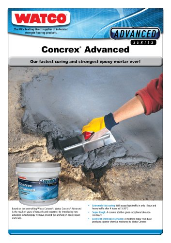 Concrex®  Advanced
