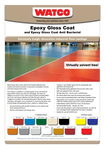 Epoxy Gloss Coat