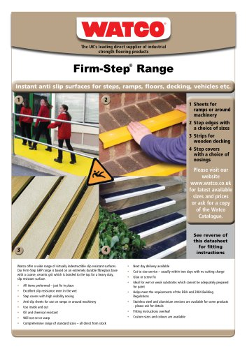 Firm-Step®  Range