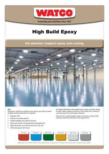 High Build Epoxy