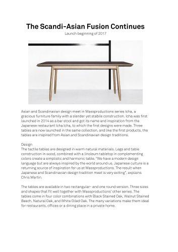 Icha table