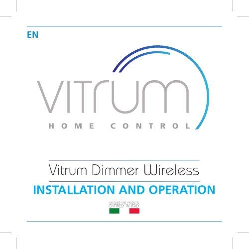 Vitrum Dimmer Wireless
