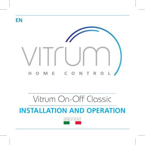 Vitrum On-Off Classic