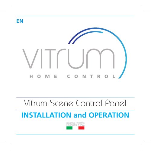 Vitrum Scene Control Panel