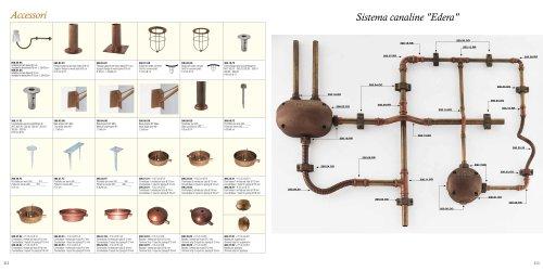 Accessories - Sistema canaline Edera