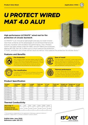 U Protect Wired Mat 4.0 Alu1