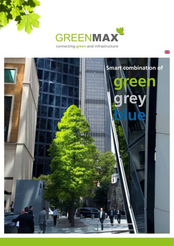 Smart combination of green grey blue
