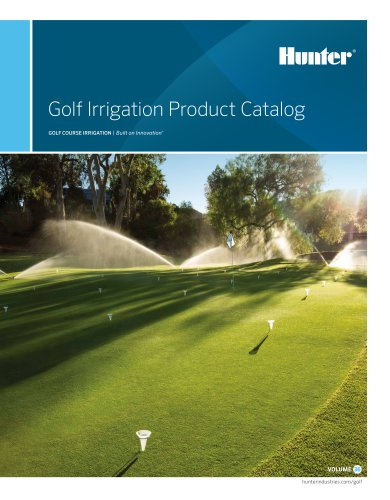 Golf Irrigation Product Catalog