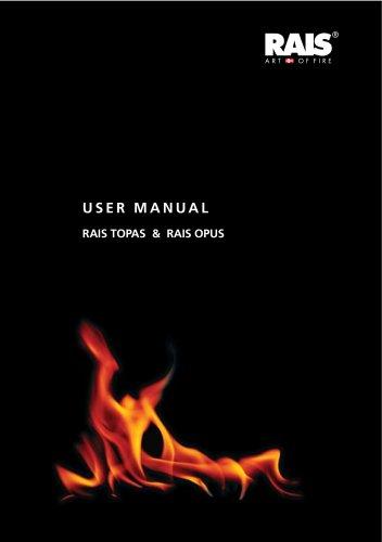 User manual RAIS TOPAS & RAIS OPUS