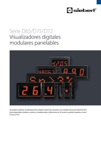 Serie D65/D75/D72