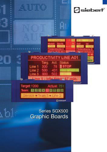Series SGX500
