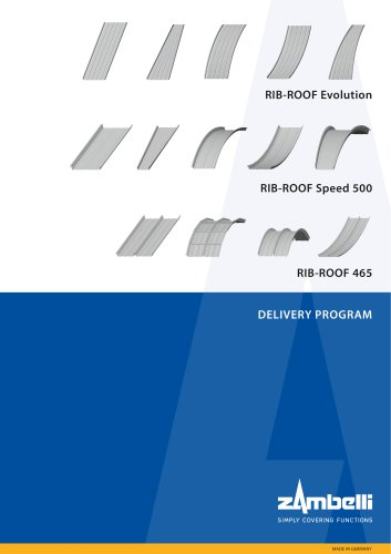 Delivery Program RIB-ROOF