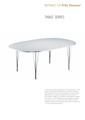 Table Series shaker base