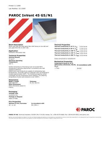 PAROC InVent 45 G5 / N1