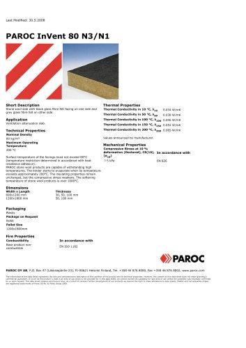 PAROC InVent 80 N3 / N1