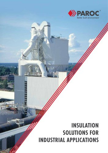 Solutions for Industrial Insulation