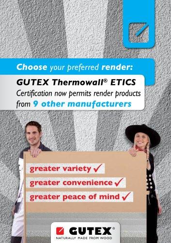 GUTEX Thermowall® ETICS