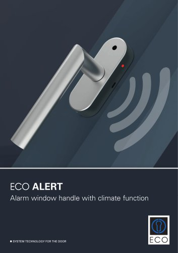 ECO ALERT - Alarm window handle with climate function