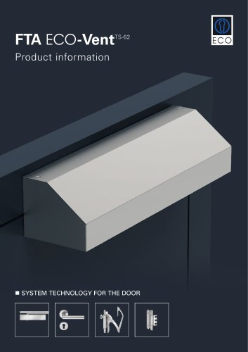 FTA ECO-Vent - Product information