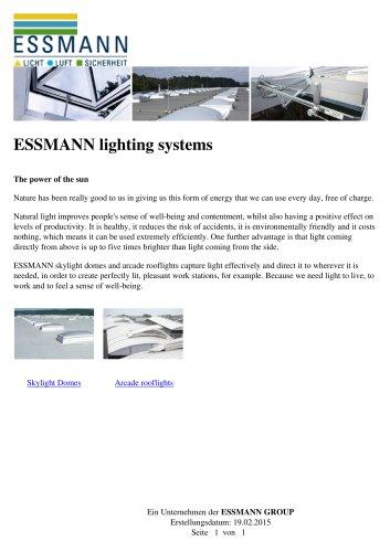 ESSMANN lighting systems
