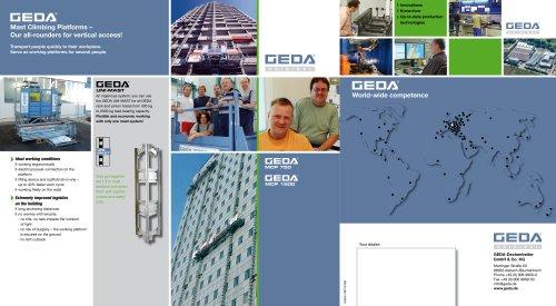 GEDA MCP 750 - GEDA MCP 1500