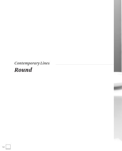 Contemporary Lines Round