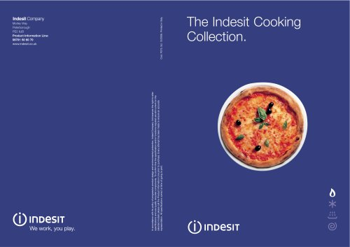 The Indesit Cooking Collection