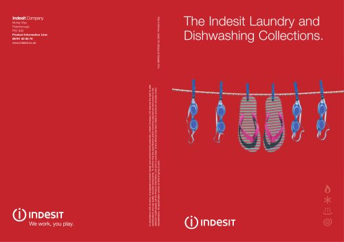 The Indesit Laundry and Dishwashing Collections