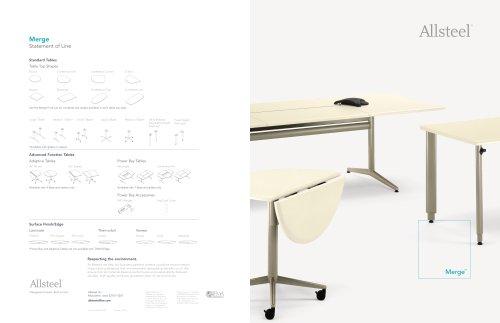 Merge Table Brochure