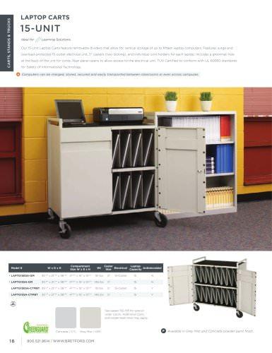 Basics Catalog - 15 Unit Laptop Carts
