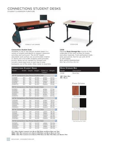 Connections Classroom Desks