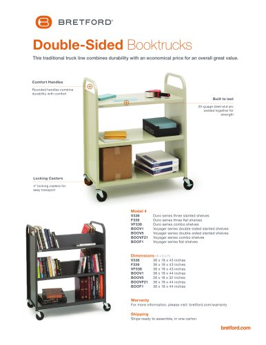 Double-Sided Booktrucks