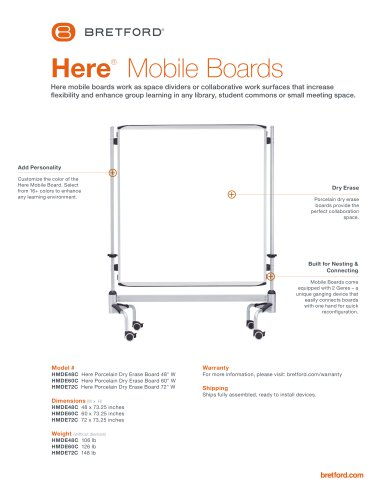 Here®  Mobile Boards