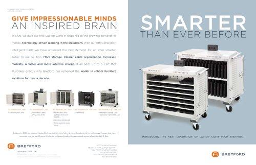 Intelligent laptop cart