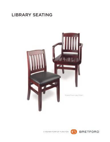 Library Chair Brochure
