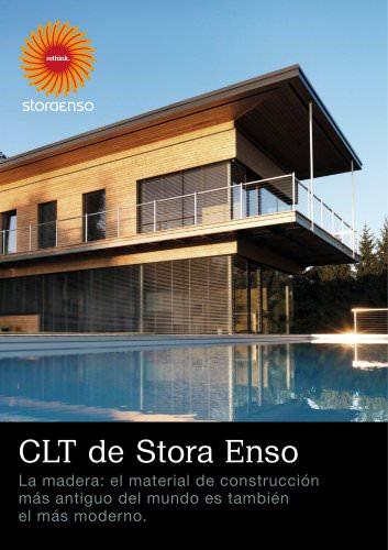 CLT de Stora Enso La madera: el material de construcción más antiguo del mundo es también el más moderno.